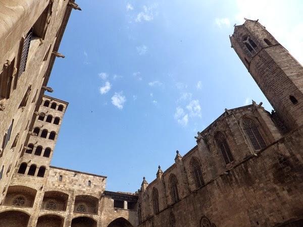 barcelone barri gotic plaça del rei