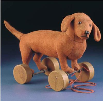 Antique Steiff; steiff dog; antique dog; collectible steiff; rare steiff;