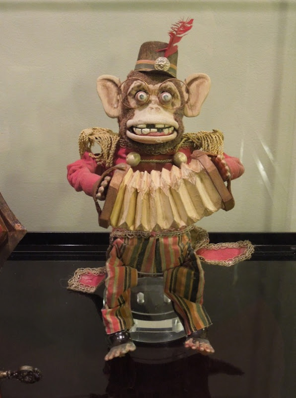Antique monkey toy prop Conjuring
