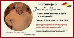 7 octubre Homenaje a J L Camarero