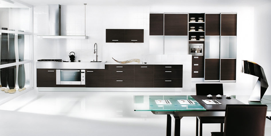 Interior Design amp; Decor: Black and White Kitchen Designs From Mobalpa