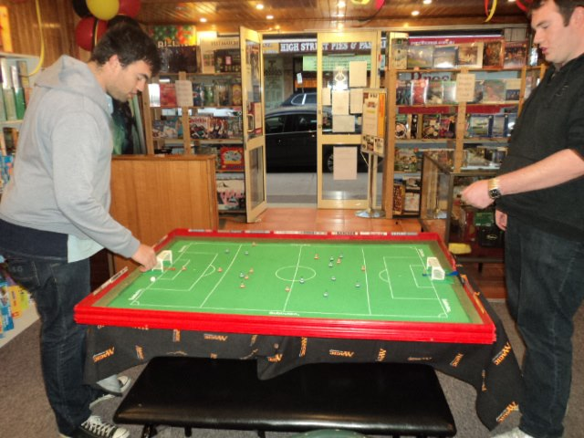 Subbuteo table football in australia ready for the show for 10 in 1 games table australia