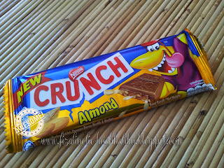 nestle crunch almond,