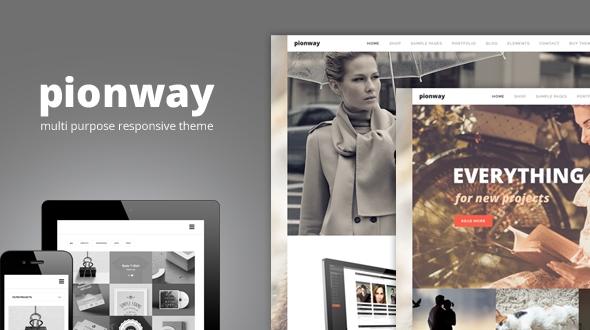 download Pionway – Multi Purpose Responsive WordPress Theme