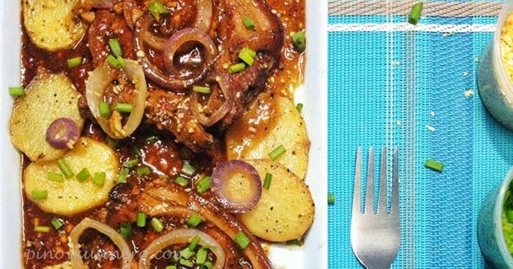 Pork Bistek Tagalog (Filipino-Style Pork Steak)