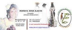 JUANA SOSA ALACHE.CERAMICA DE CHULUCANAS.PERU