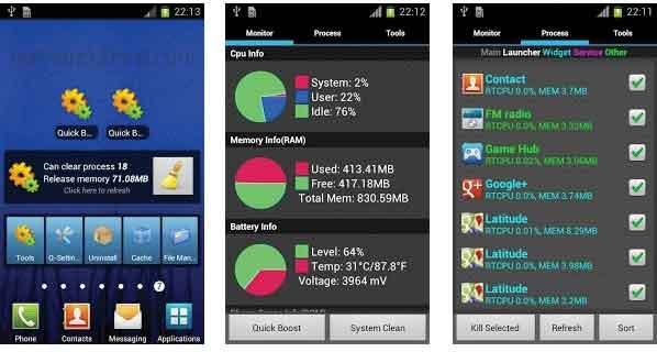 Aplikasi Mempercepat Android Asisstant
