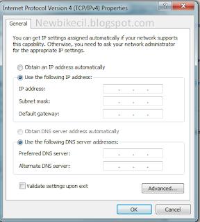 mempercepat koneksi internet agar tidak lelet menggunakan DNS google
