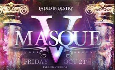 Masque V, Pittsburgh, Faded Industry Entertainment, Island Studios