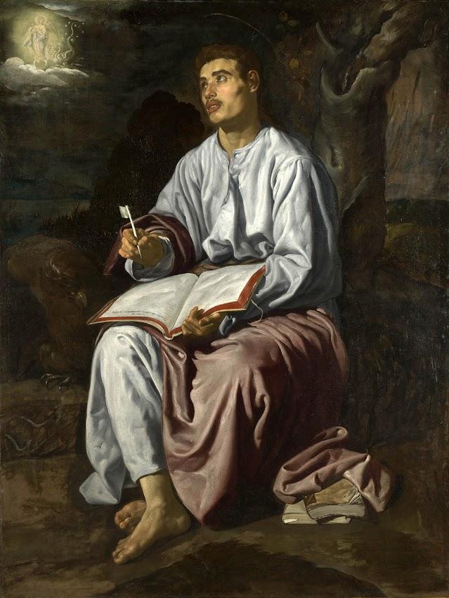 Diego Velazquez - Saint John the Evangelist on the Island of Patmos