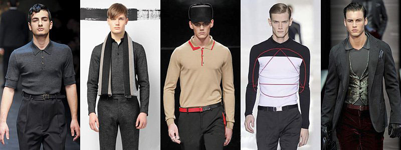 Fall 2013 Men's Shirts Fashion Trends