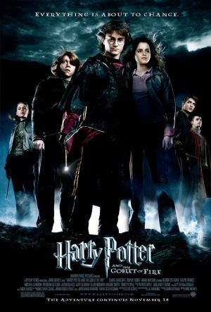 Poster Of Harry Potter and the Goblet of Fire 2005 720p BluRay Dual Audio