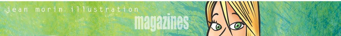 Jean Morin Illustration Magazines