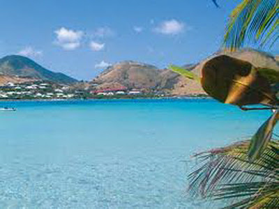 Beauty of st maarten island