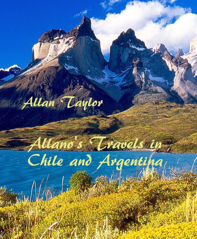 Allano's new eBooks on travels in Latin America (click on images)