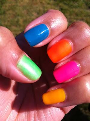 Green and Orange Shade, Nicka K Cosmetics