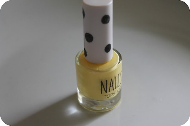 Topshop Nail Polish in Bee's Knees