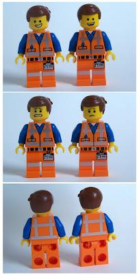 LEGO Emmet Comparisons