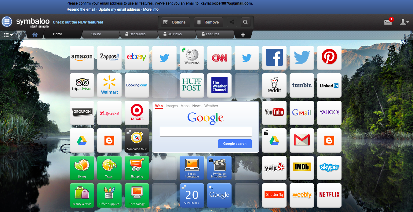 Image of my Symbaloo