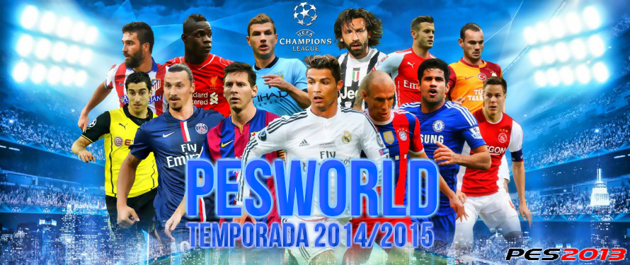 PES 2013 PESWORLD 2.0 Patch Season 2014/15 - Released #26/05/2015