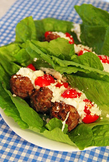 Greek Gyro Lettuce Wraps from Jo & Sue