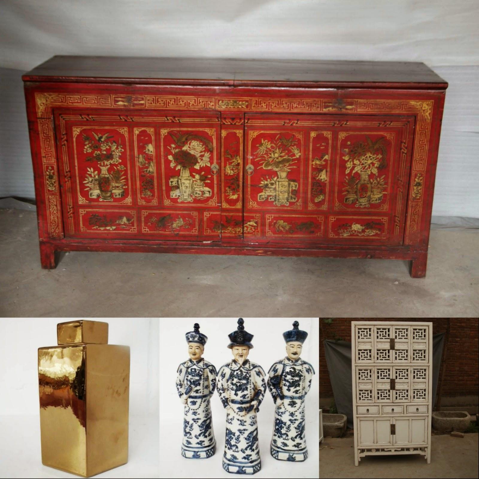 cabinets, Chinese ceramics
