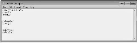 Membuat Dokumen HTML5