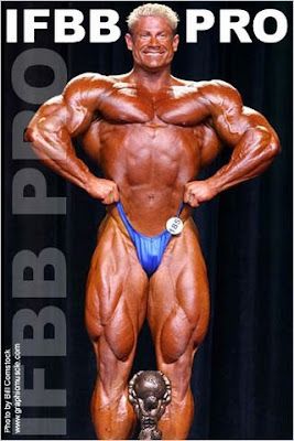 Chris Cook's first bodybuilding