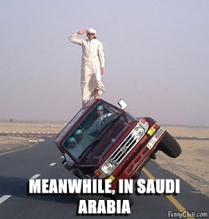meanwhile in saudi arabia