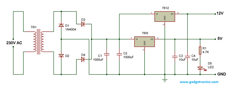 12v-5v-circuit-dc-dual-power-supply