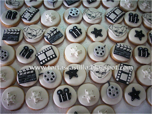 Galletas decoradas tipo Hollywood