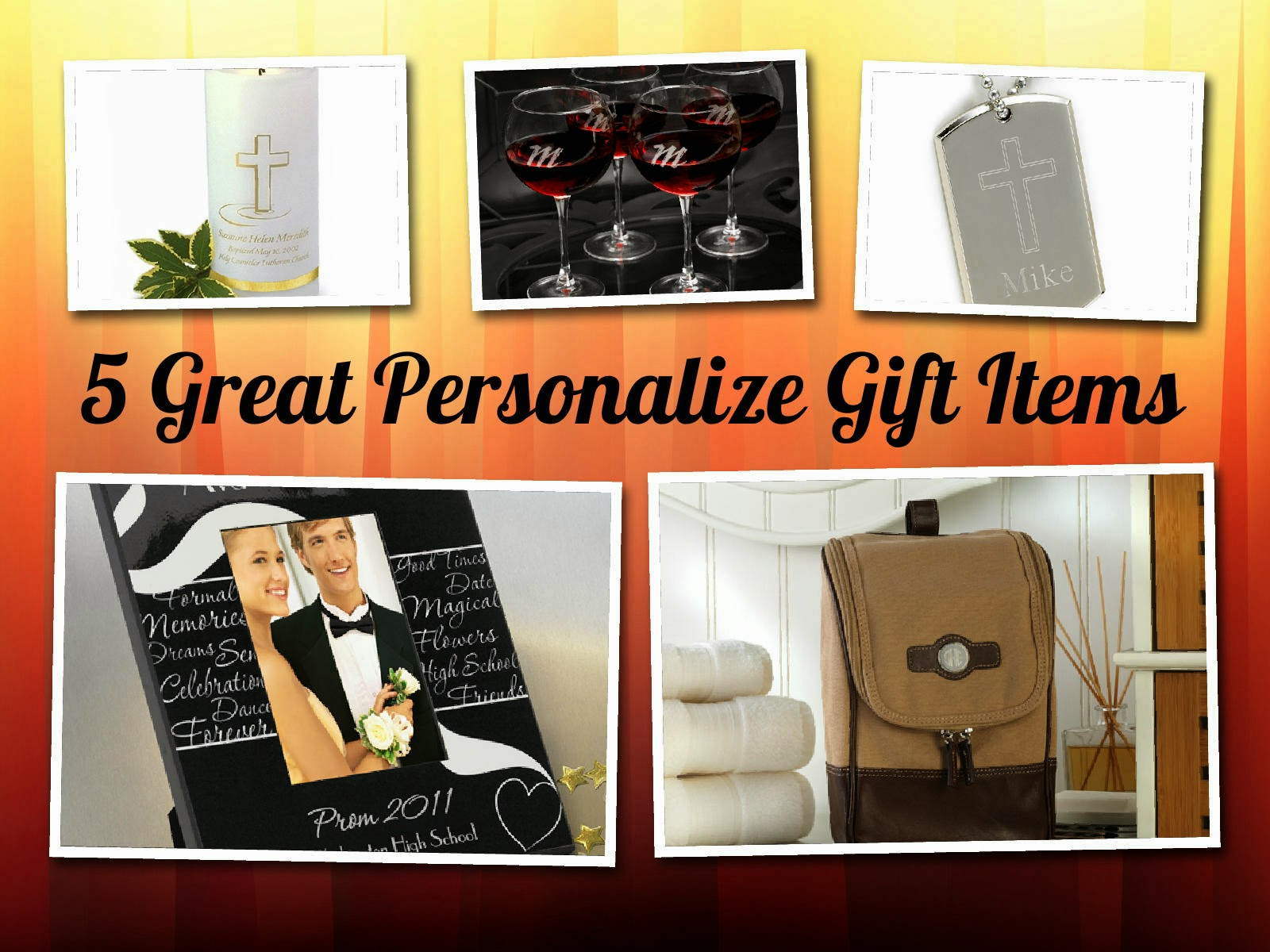 Personalize Gift Items