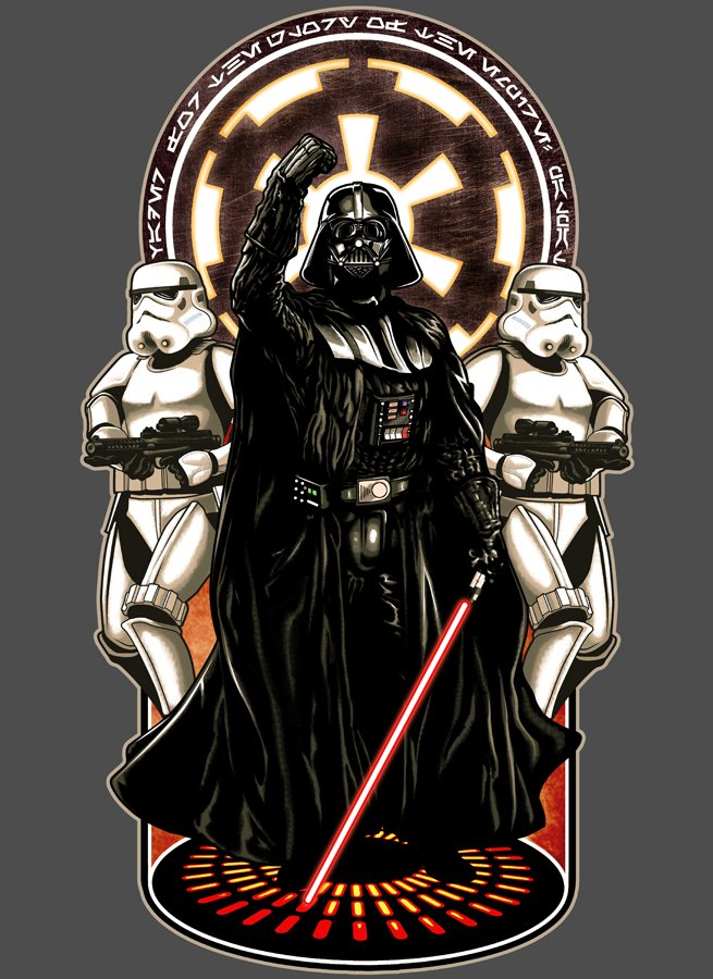 fashion and action the stellar star wars art of timothy lim ninjaink red 5 tee available. Black Bedroom Furniture Sets. Home Design Ideas