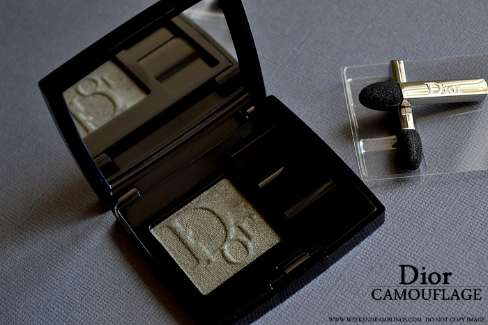 Dior Diorshow Mono Wet Dry Eyeshadow Camouflage 477 Photos Swatches Review FOTD Ingredients Indian Darker Skin Makeup Beauty Blog