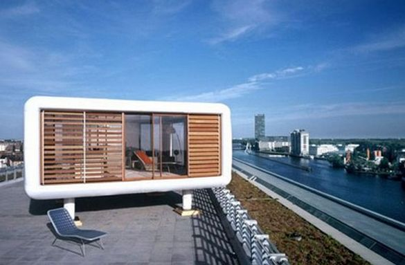 Amazing mobile home designs and concepts 100knot for Portable home designs