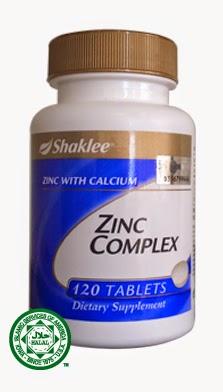 Zinc complex shaklee mempercepatkan penyembuhan luka