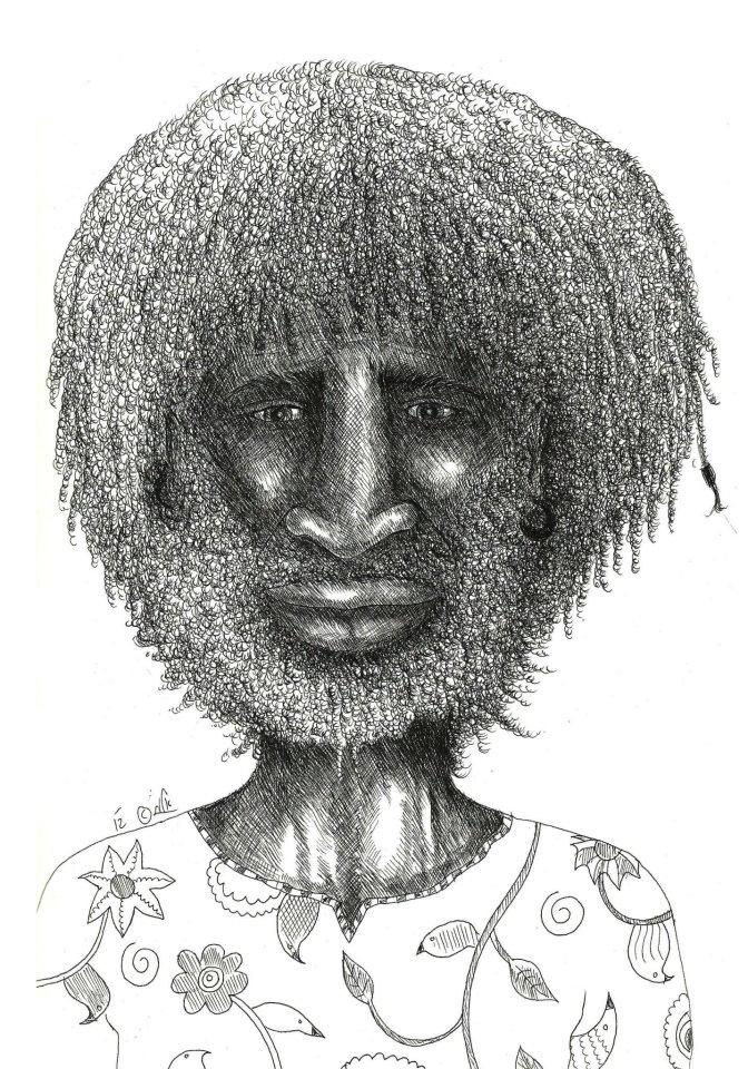 Elad Mualem Illustration: Black and white stuff