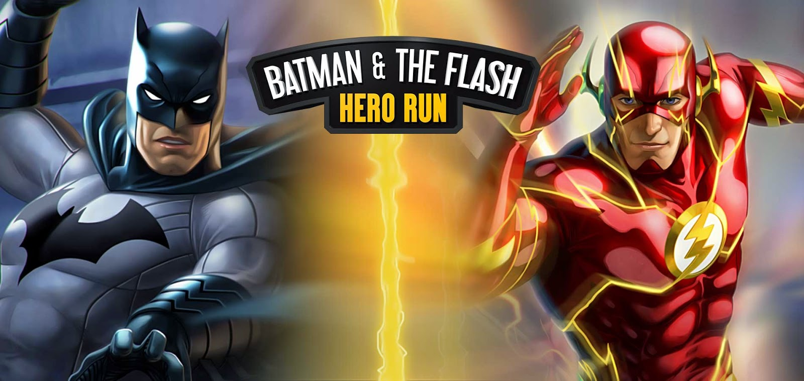 Batman & The Flash: Hero Run + (Mod Money) [Link Direto]