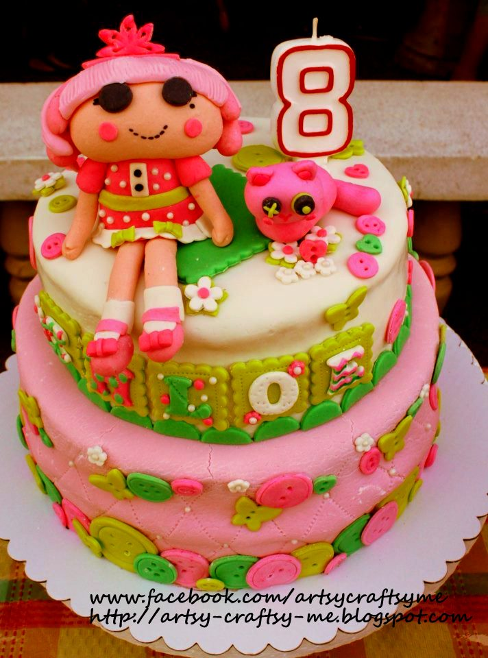 Artsy Craftsy Me Lalaloopsy Cake And The Lessons I Learned
