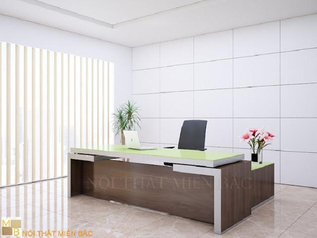 Thiết kế văn phòng giám đốc phong cách châu Âu
