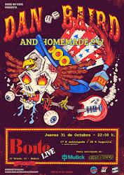 Dan Baird & Homemade Sin - 31/10/2019 - Boite Live (Madrid)
