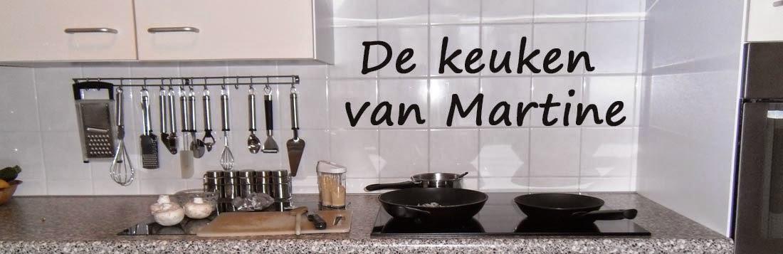 De keuken van Martine