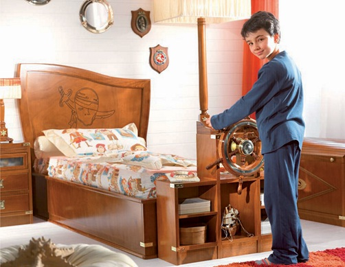 dormitorio marinero niño