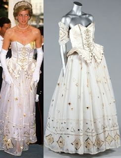 Princess Diana's favourite fairytale ballgown for sale