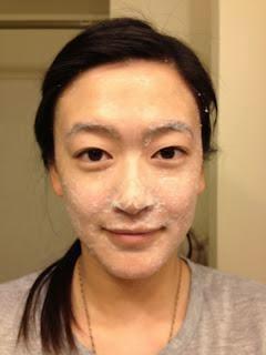 Masker Beras Putih Alami