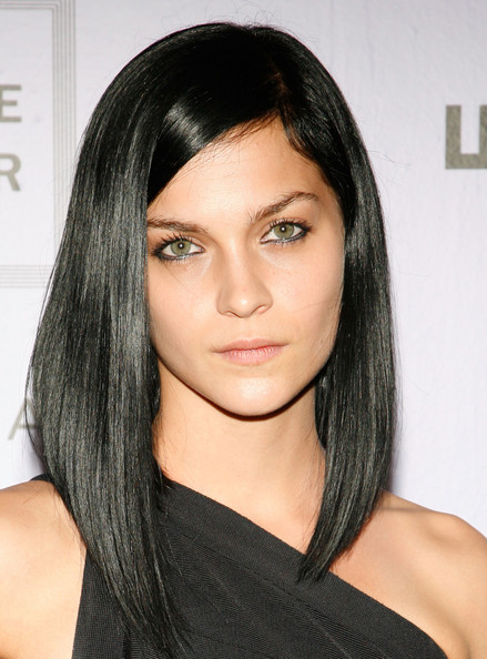 ly hairstyles black hair color