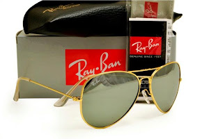 AVIATOR FRAME GOLD LENS SILVER