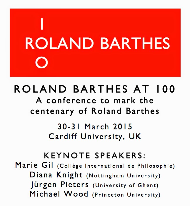 Roland Barthes at 100