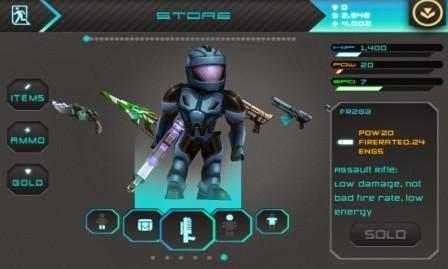 Star Warfare: Alien Invasion, games perang melawan alien untuk windows phone