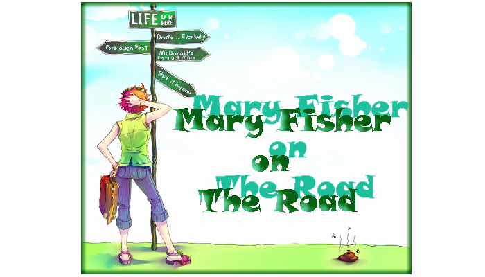 Mary Fisher On The Road